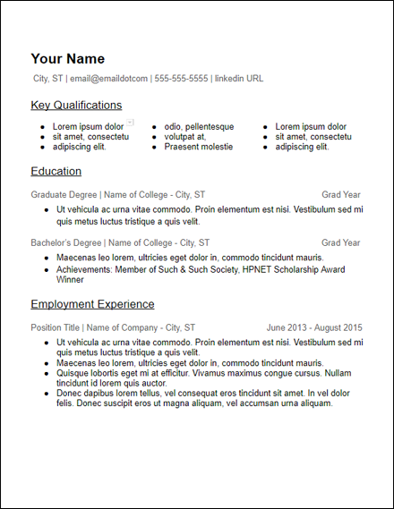 google_docs_lots_of_skills_education_resume_template
