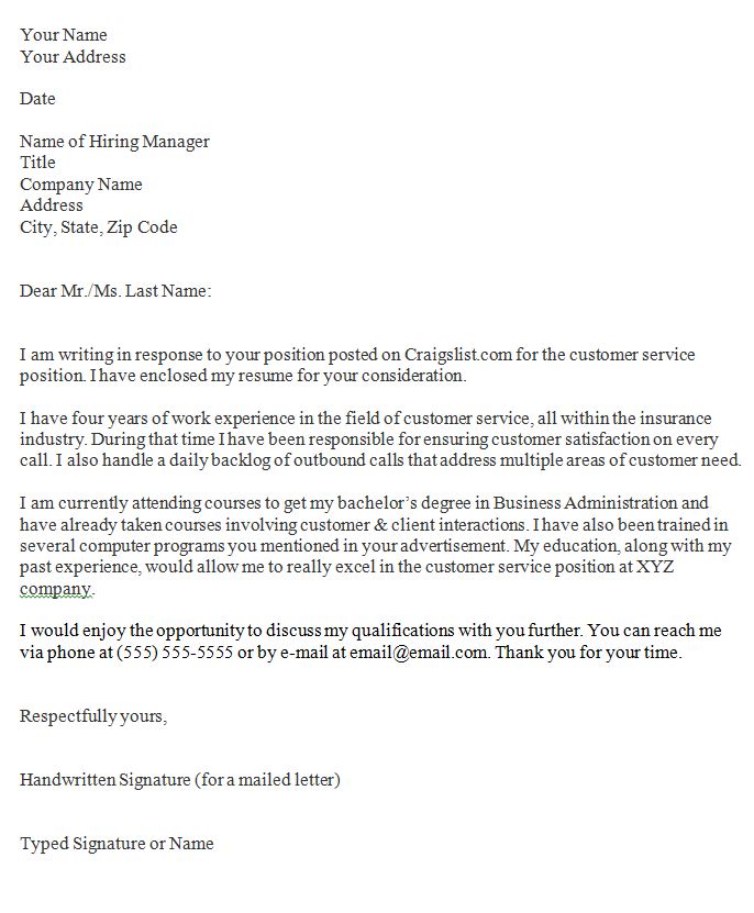 Signature On Cover Letter from hirepowers.net
